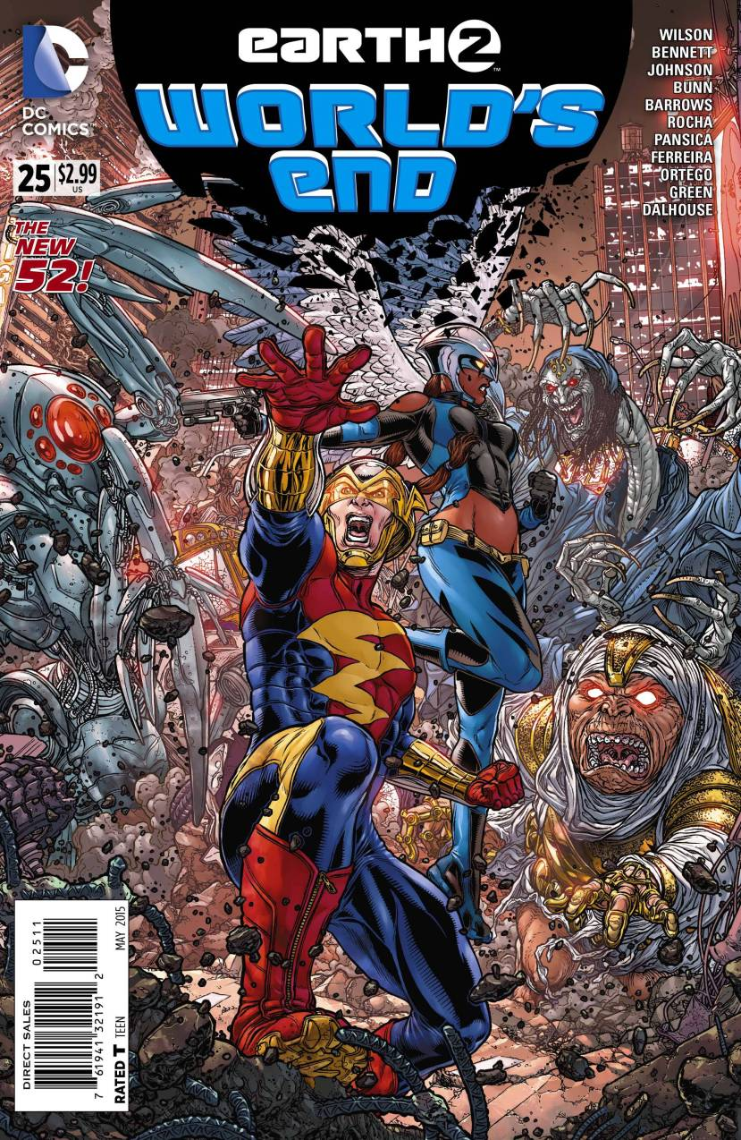 Earth 2 World's End #25