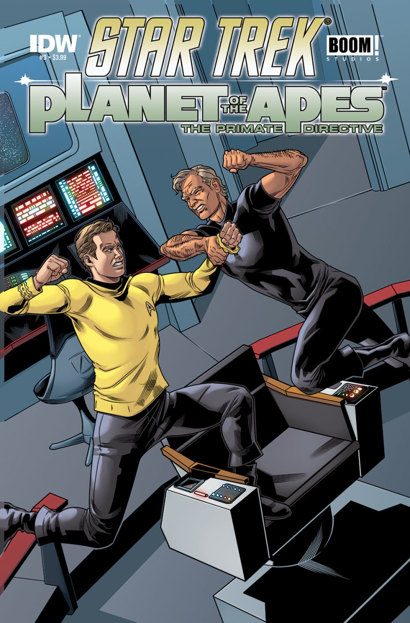 Star Trek Planet of the Apes The Primate Directive #3
