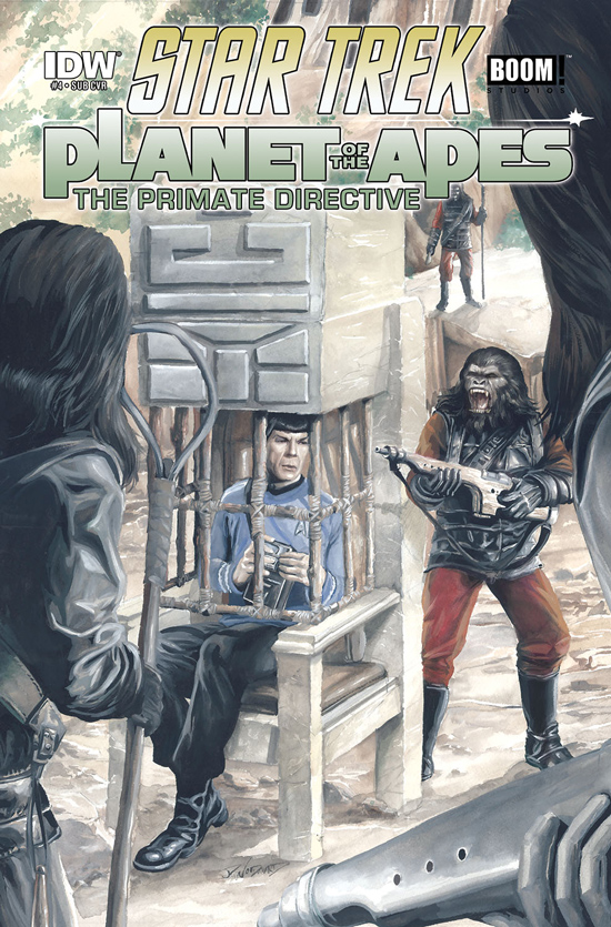 Star Trek Planet of the Apes The Primate Directive #4