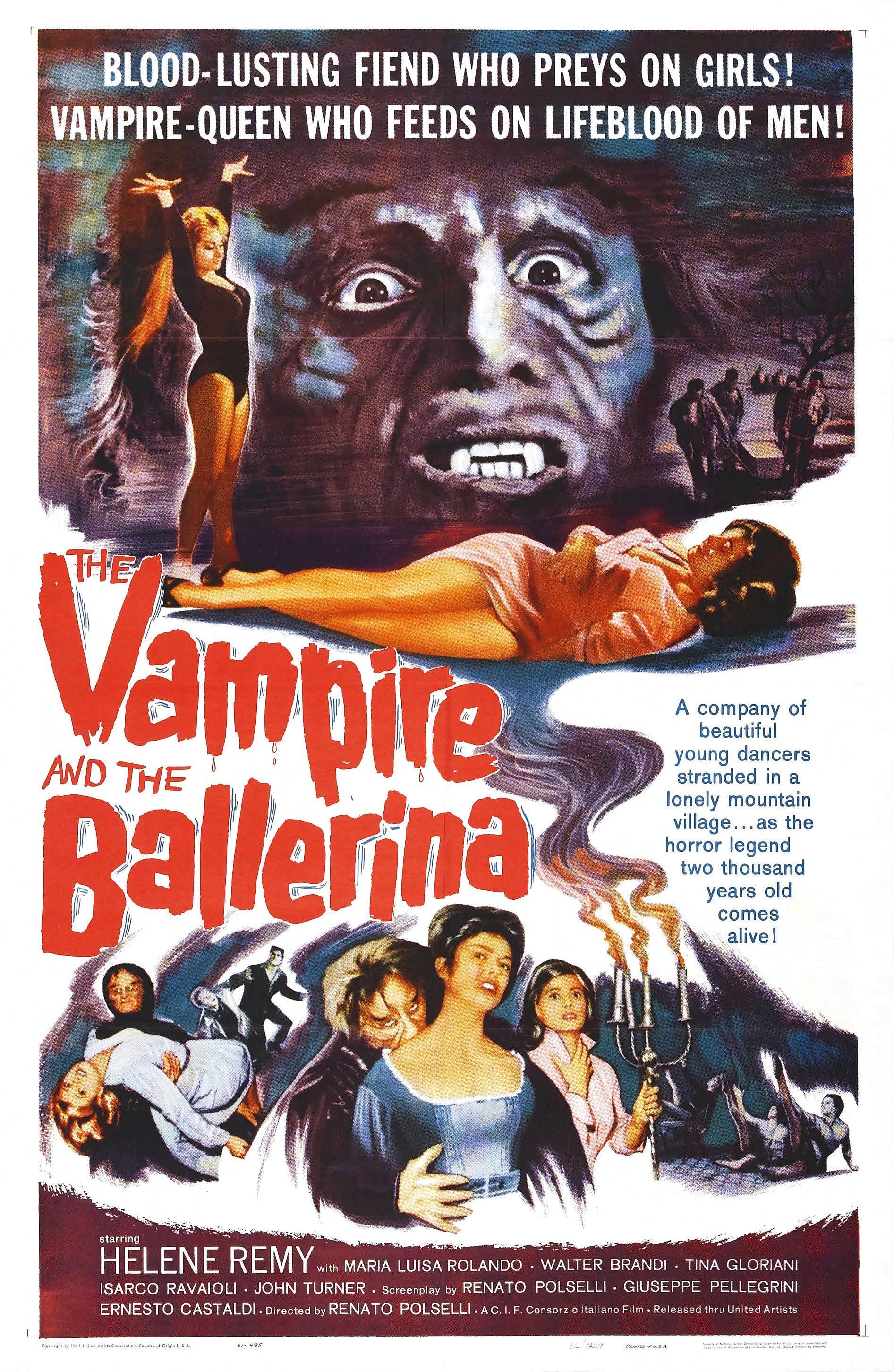The Eternal Dance – The Vampire And The Ballerina 1960 – The