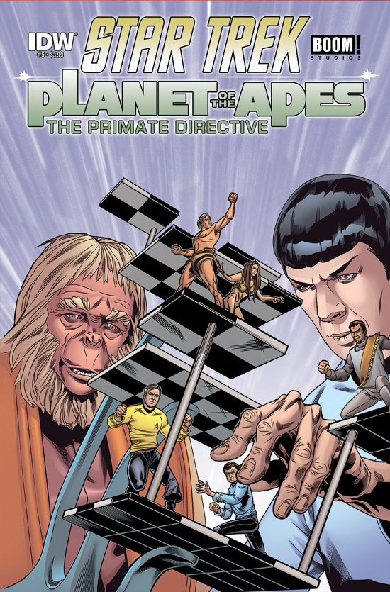 Star Trek Planet of the Apes #5