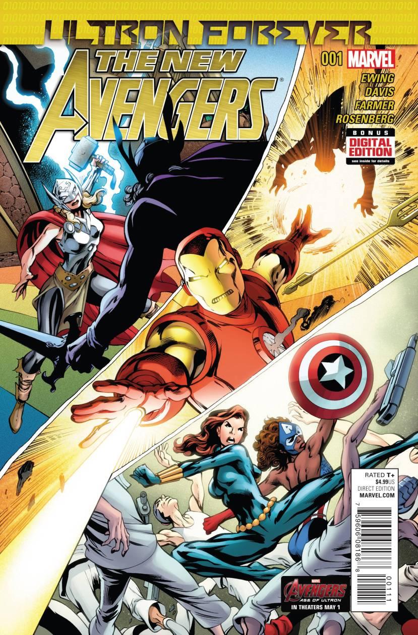 New Avengers Ultron Forever #1