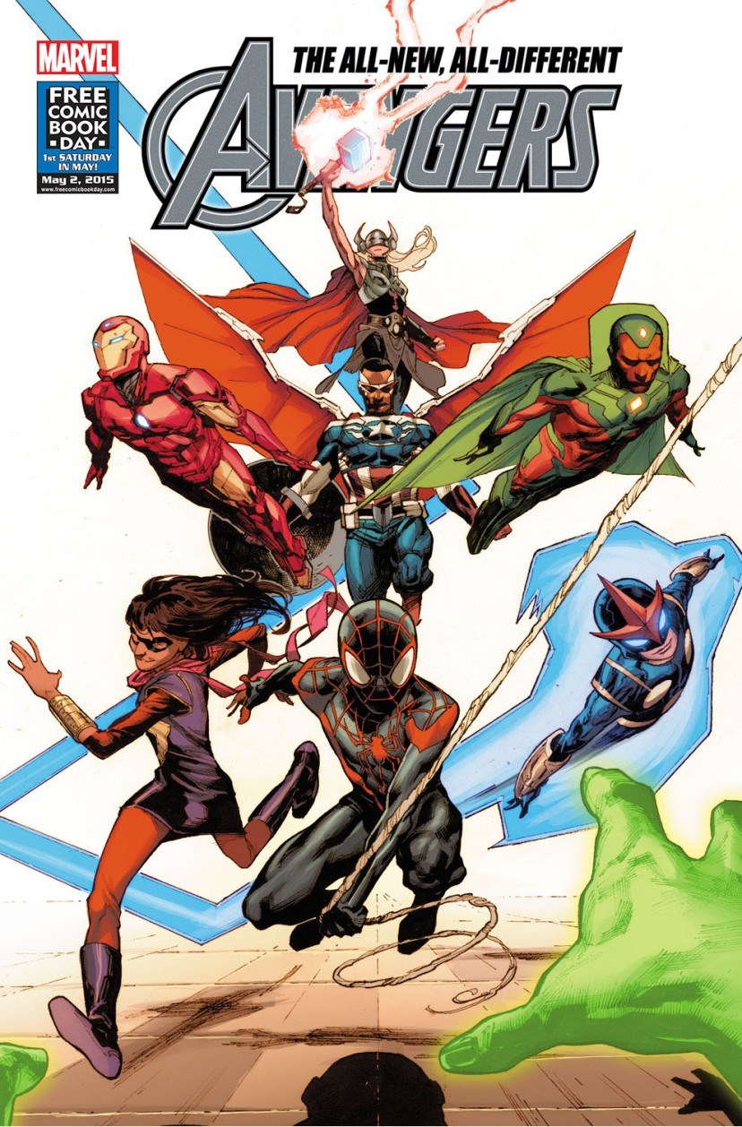 The All-New, All-Different Avengers FCBD