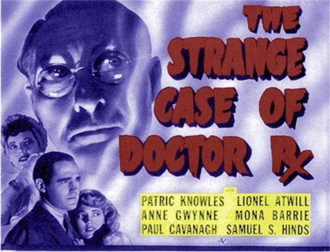 The Strange Case of Doctor Rx1