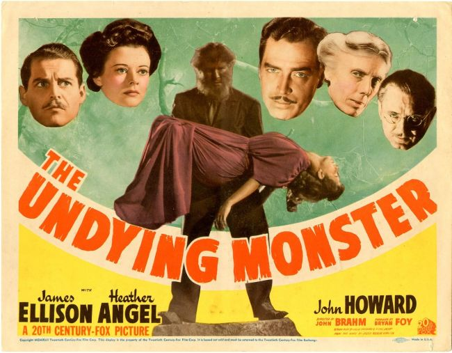 Image result for 1942 movie the undying monster