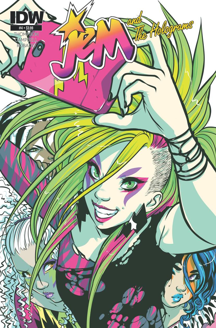 Jem and the Holograms #4