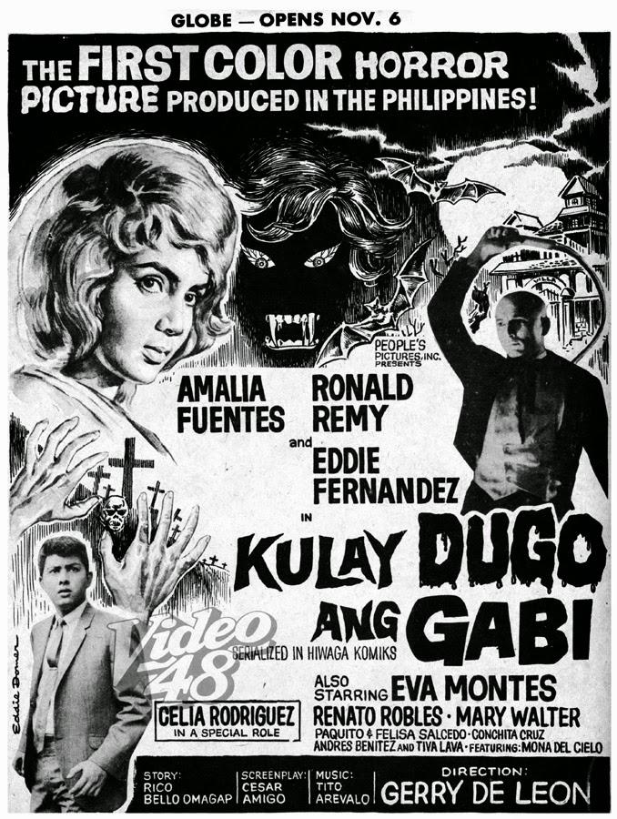 Kulay Dugo ang Gabi- 1964