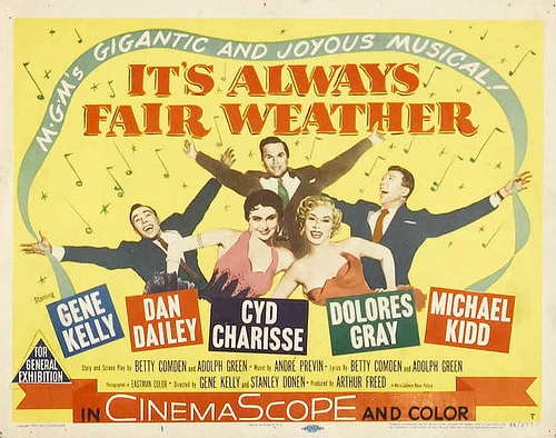 Month in Movies: February – Champagne for Lunch Its Always Fair Weather