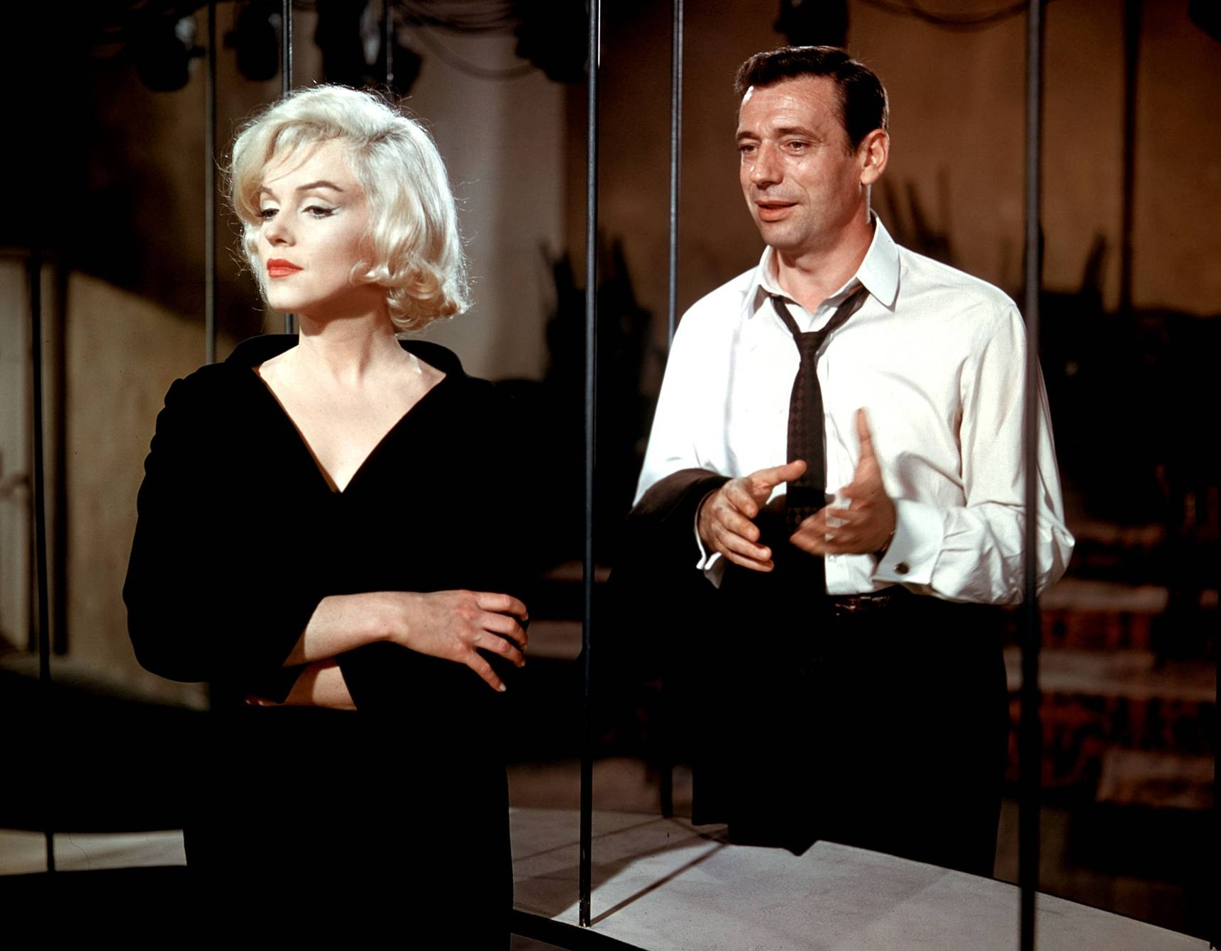 Marilyn & Montand