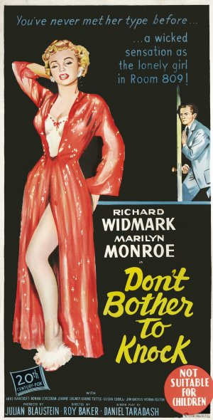 dont bother to knock Hollywood is full of wrecked souls and broken dreams and the immortality made  from some of them the pressures of stardom and being in the.