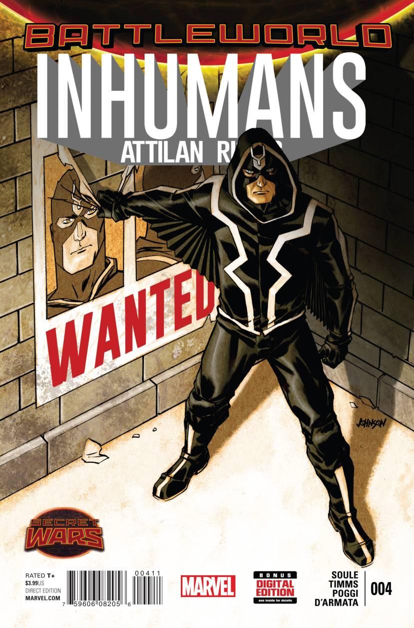 Inhumans Attilan Rising #4