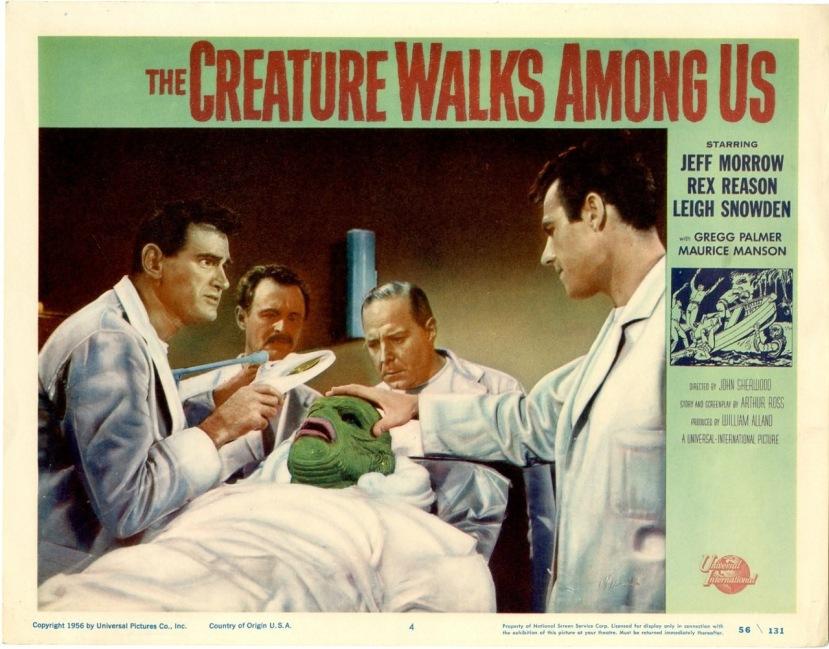 The Creature Walks Among Us5