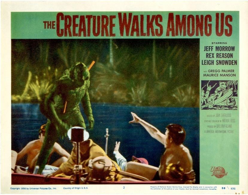 The Creature Walks Among Us7