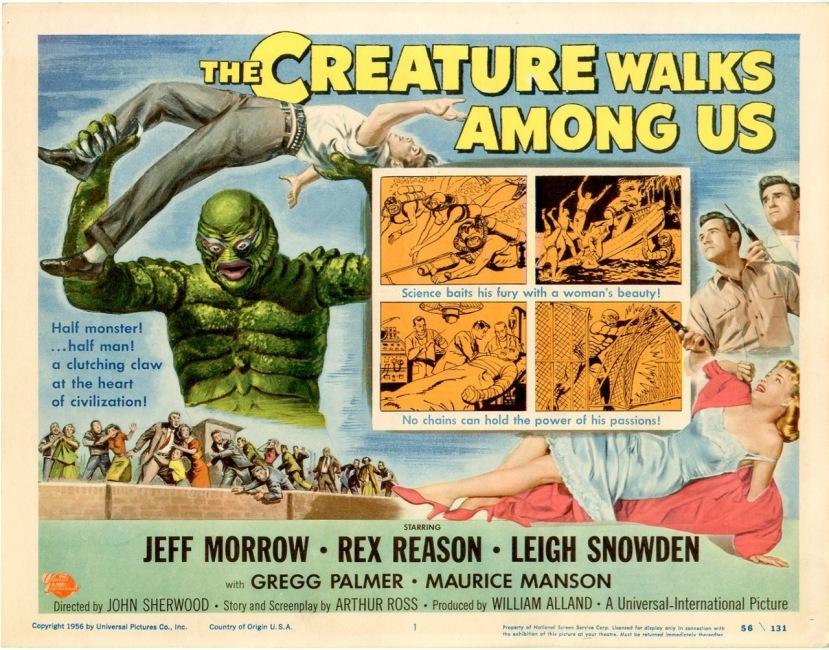 The Creature Walks Among Us8
