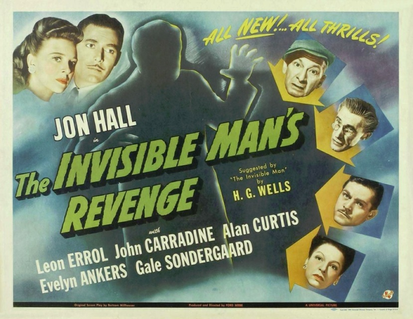 the invisible man's revengeb