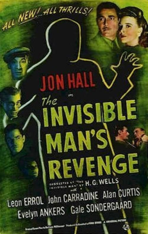 the invisible man's revengec