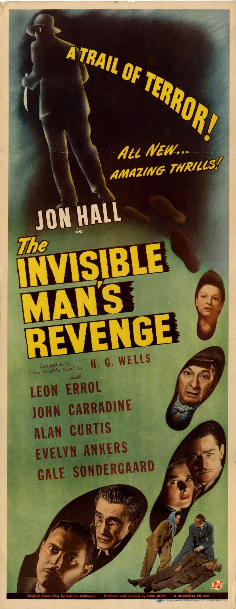 the invisible man's revenged