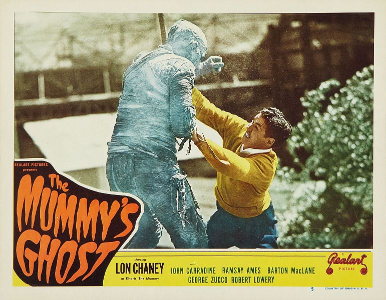 The Mummy's Ghost63
