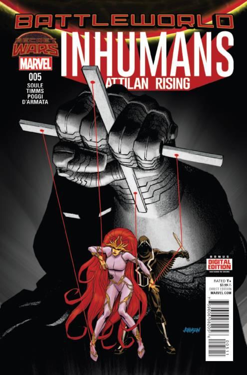 Inhumans Attilan Rising #5