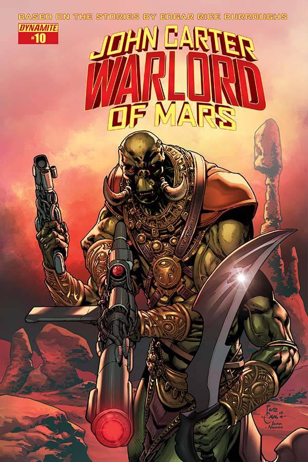 John Carter Warlord of Mars #10