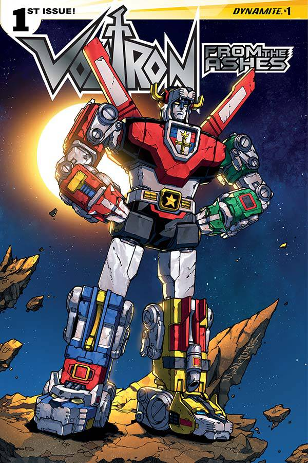 Voltron From the Ashes #1