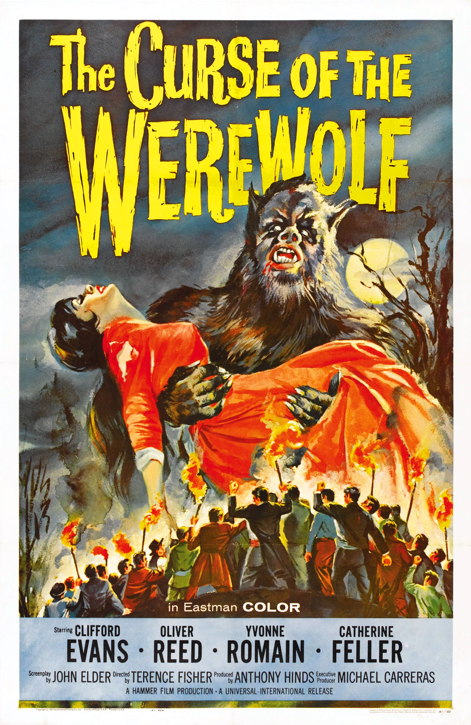 he suffers the curse of the werewolf 1961 the telltale mind