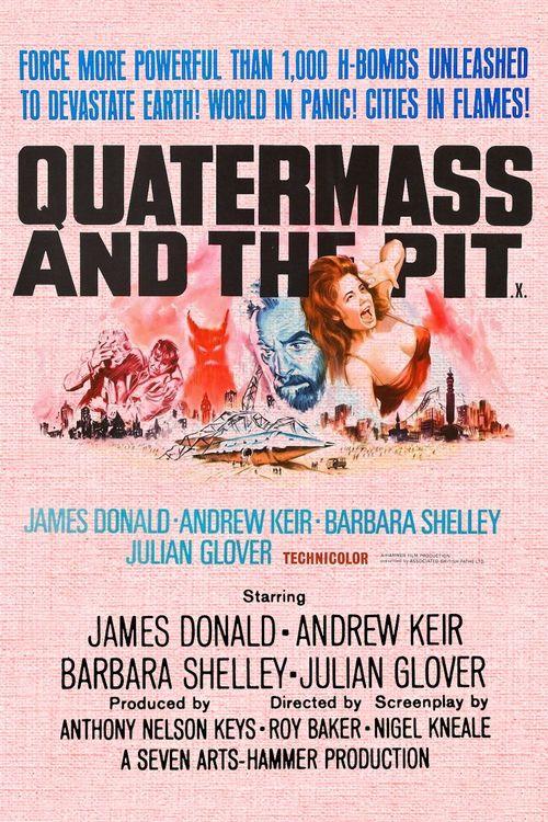 Resultado de imagen de Quatermass and the Pit 1967 poster