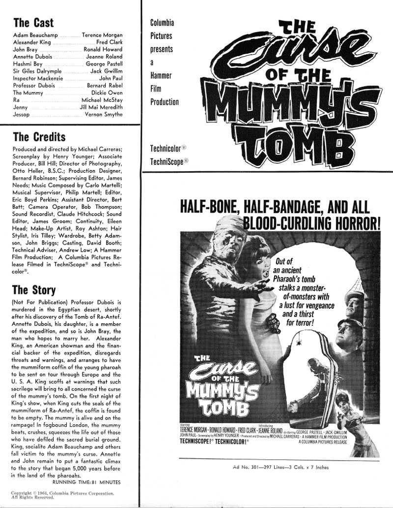 The Curse of the Mummy's Tomb 22