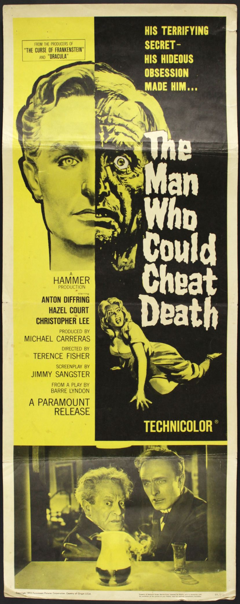 The Man Who Could Cheat Death33