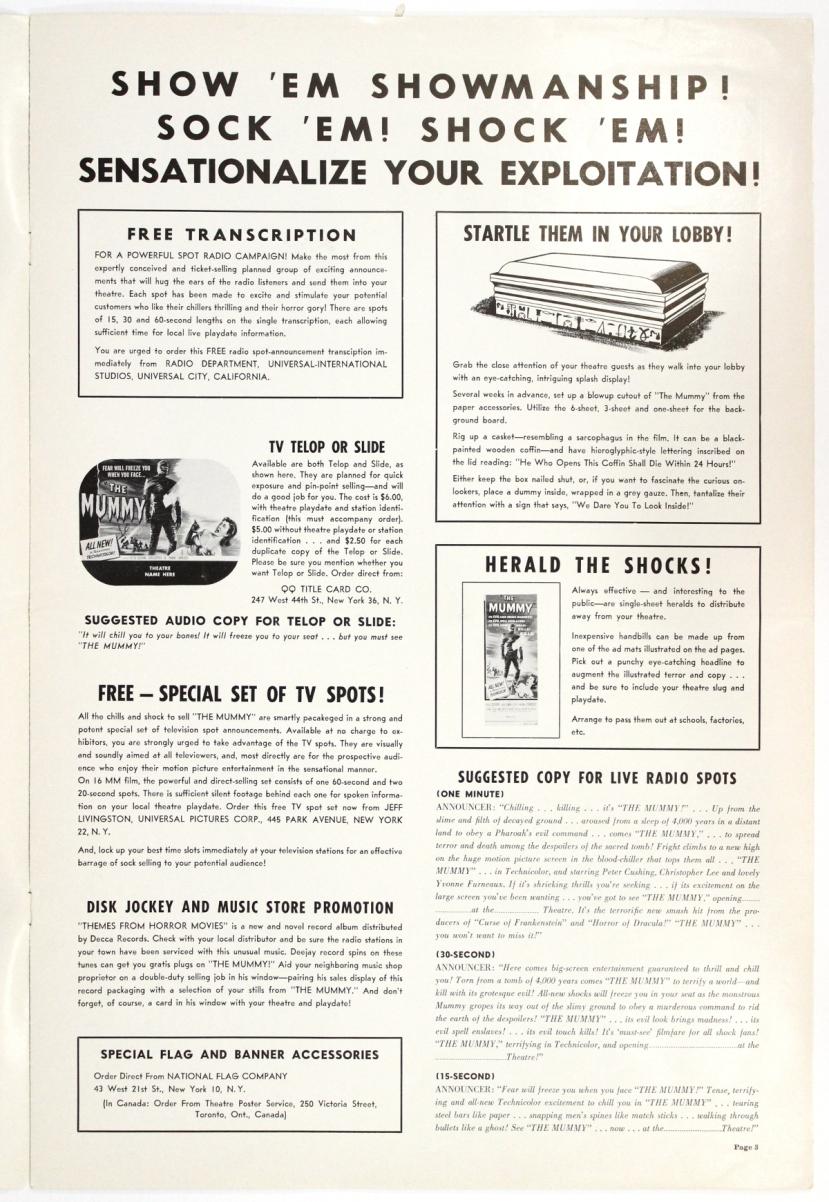 The Mummy 1959-77
