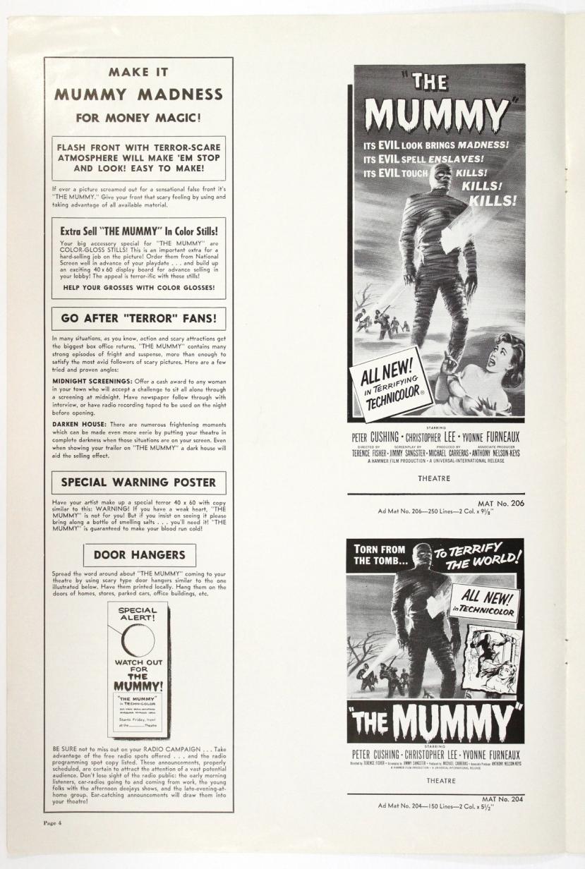 The Mummy 1959-78