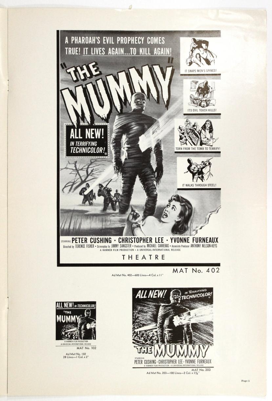 The Mummy 1959-79