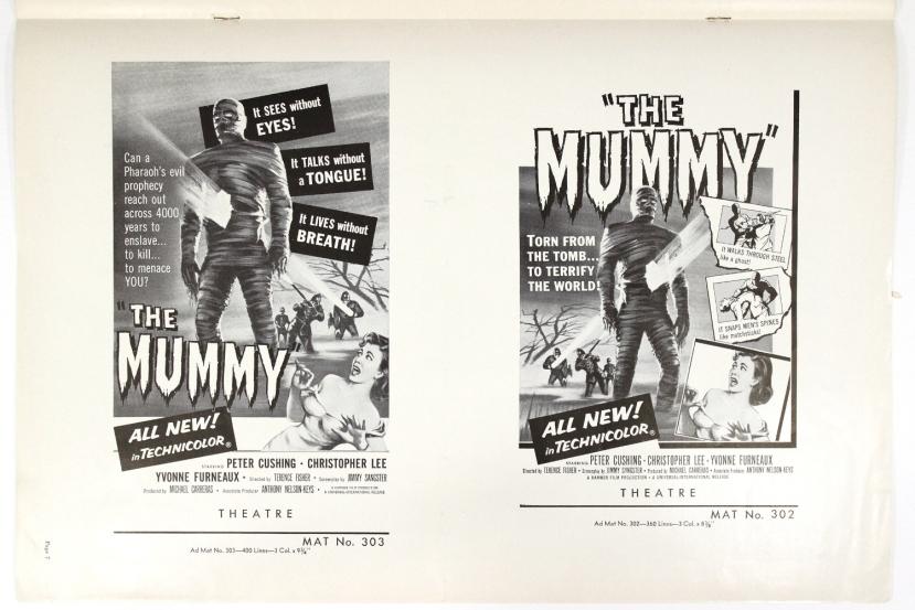 The Mummy 1959-81