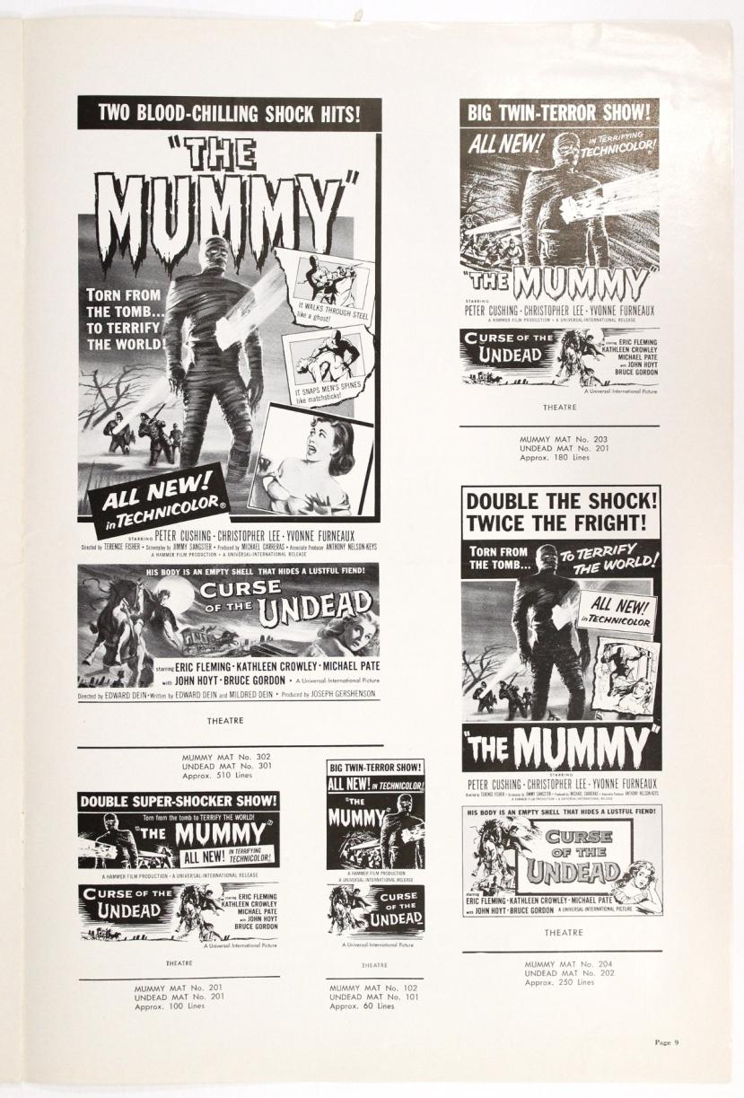 The Mummy 1959-83