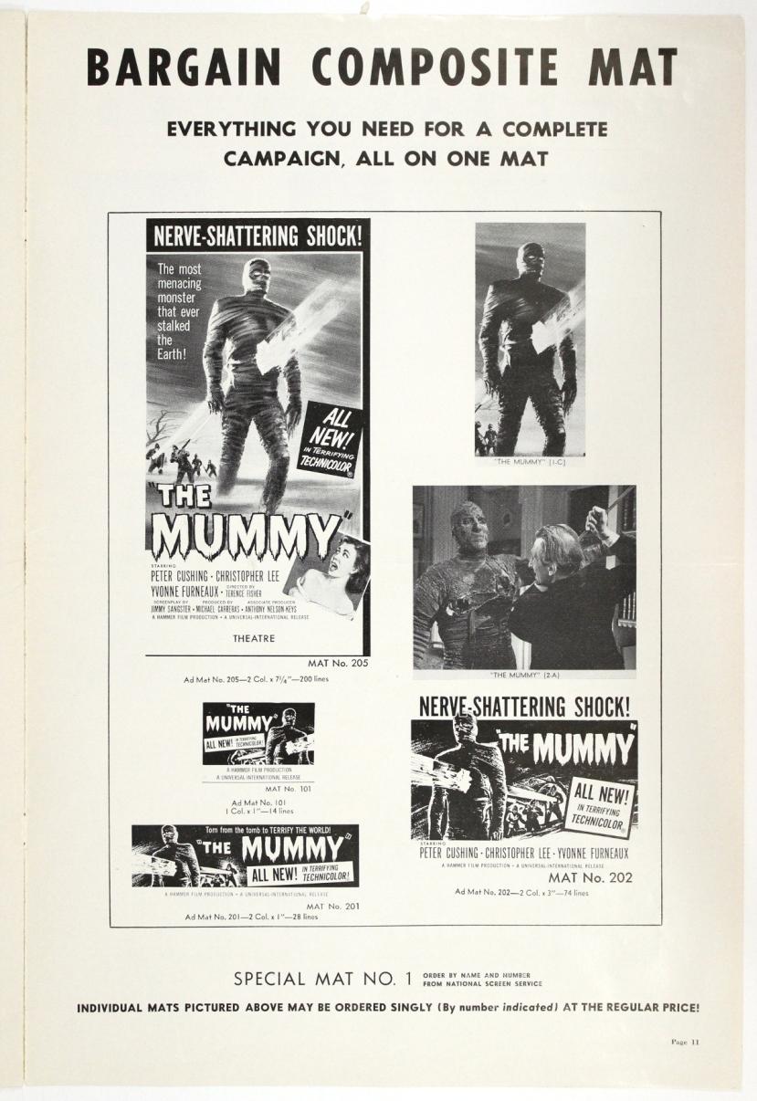 The Mummy 1959-85