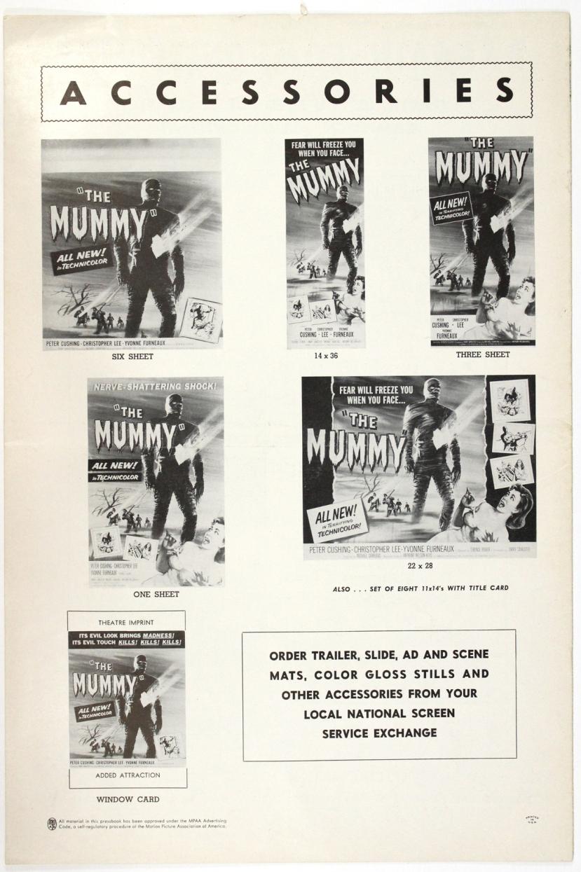 The Mummy 1959-86