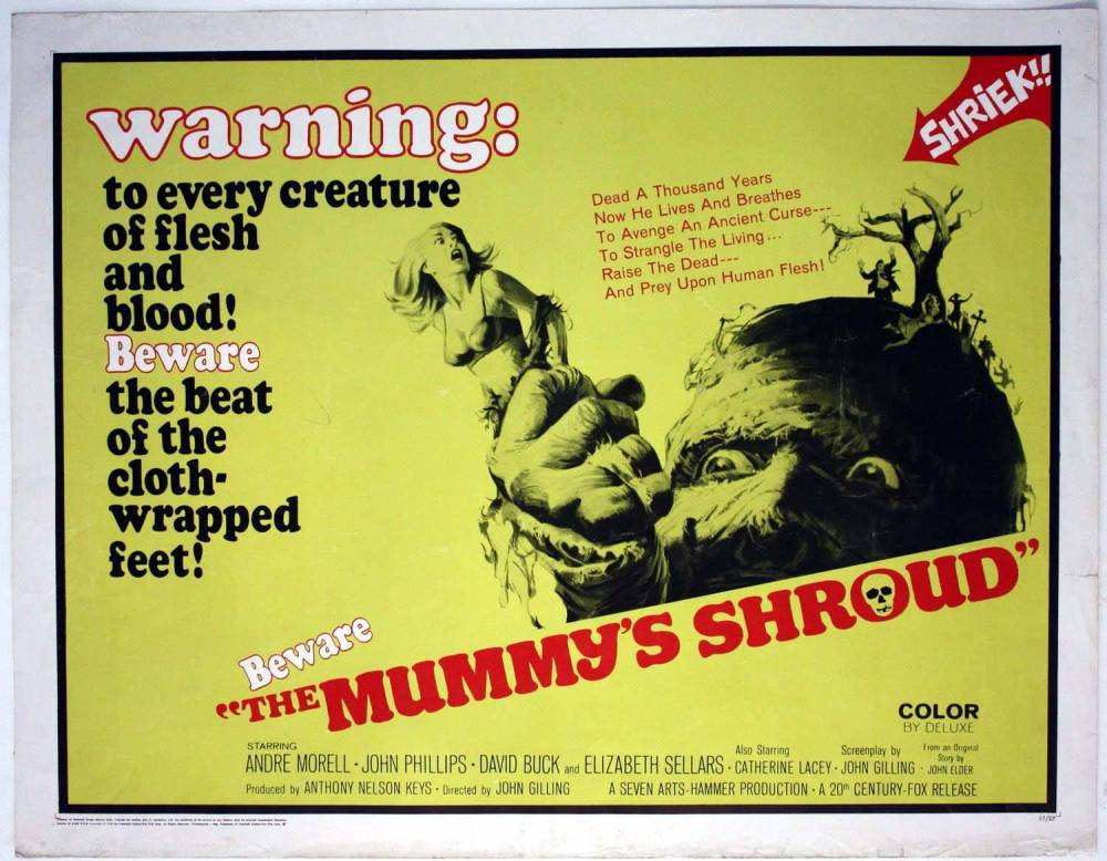 The Mummy's Shroud (1967) – The Visuals – The Telltale Mind
