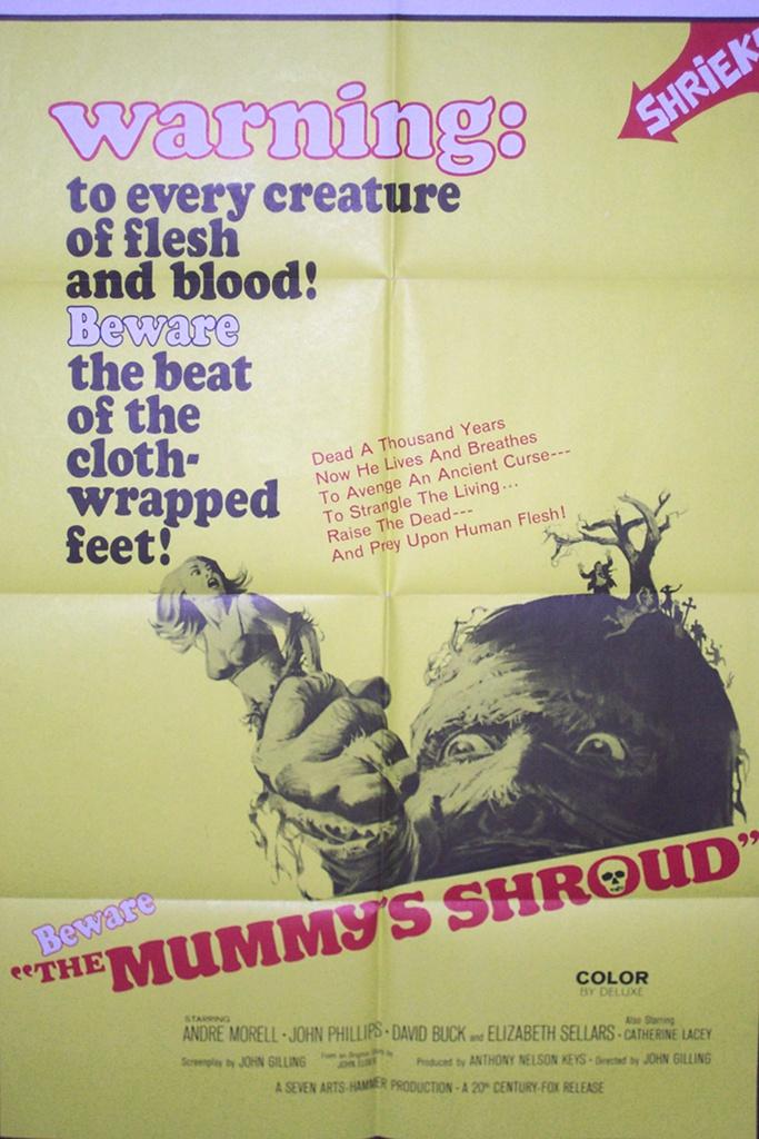 The Mummy's Shroud 50