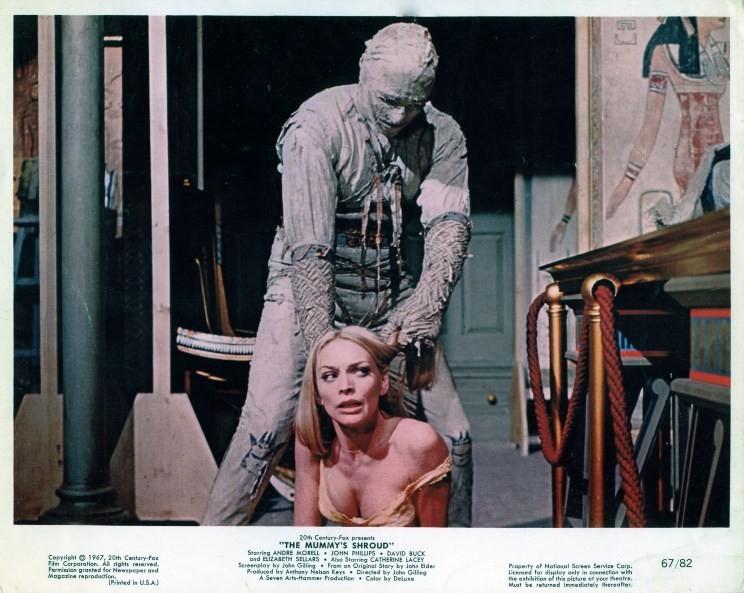 The Mummy's Shroud 9