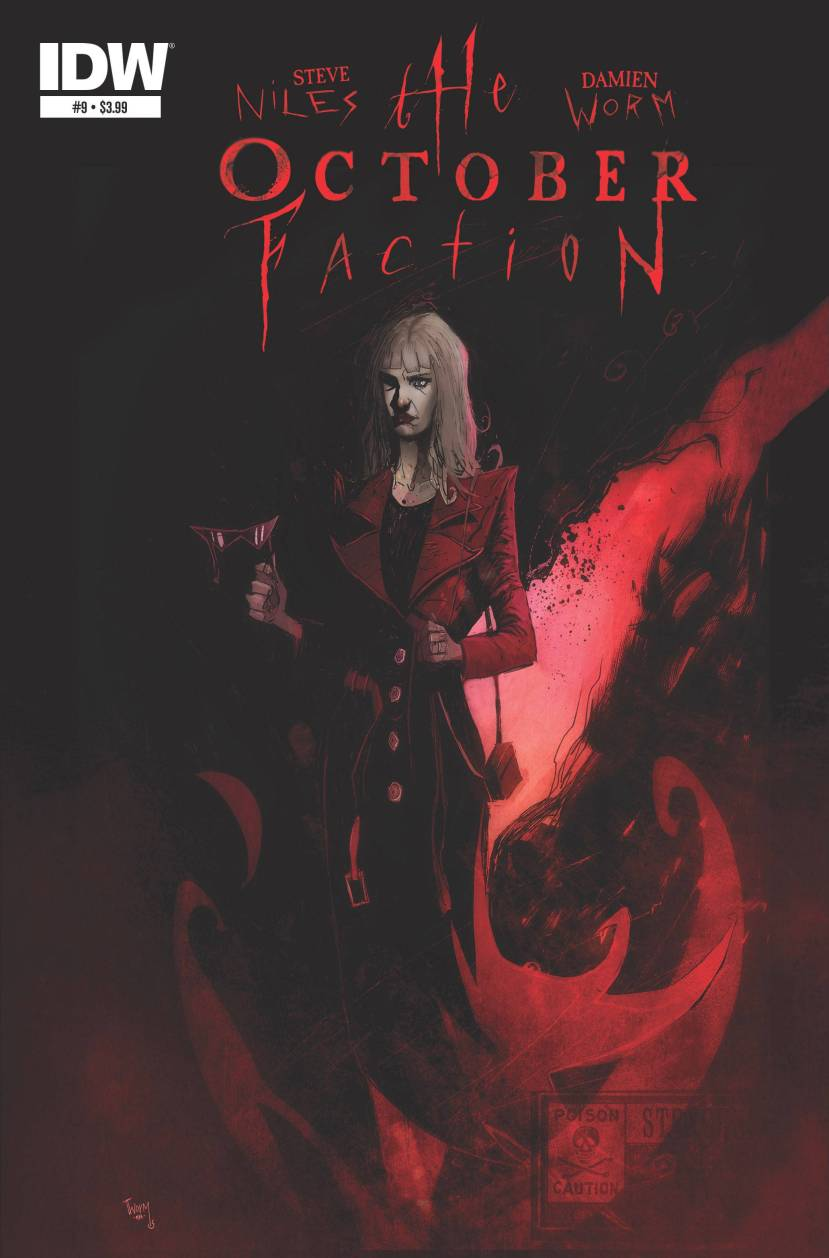 The October Faction #9