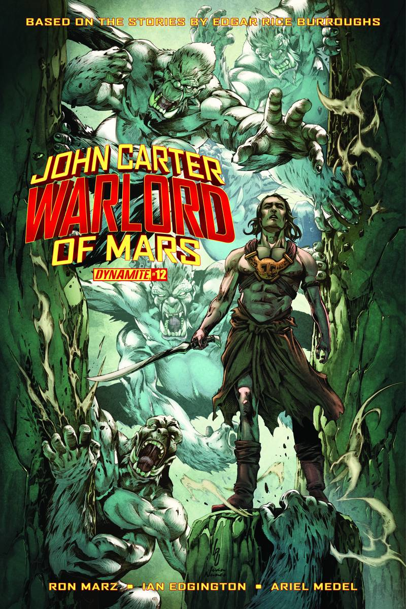 John Carter Warlord of Mars #13