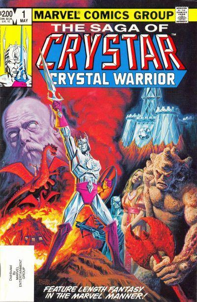 The Saga of Crystar, Crystal Warrior #1