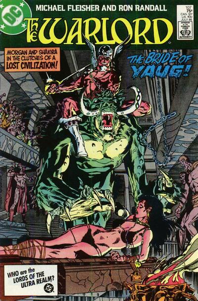 The Warlord #107