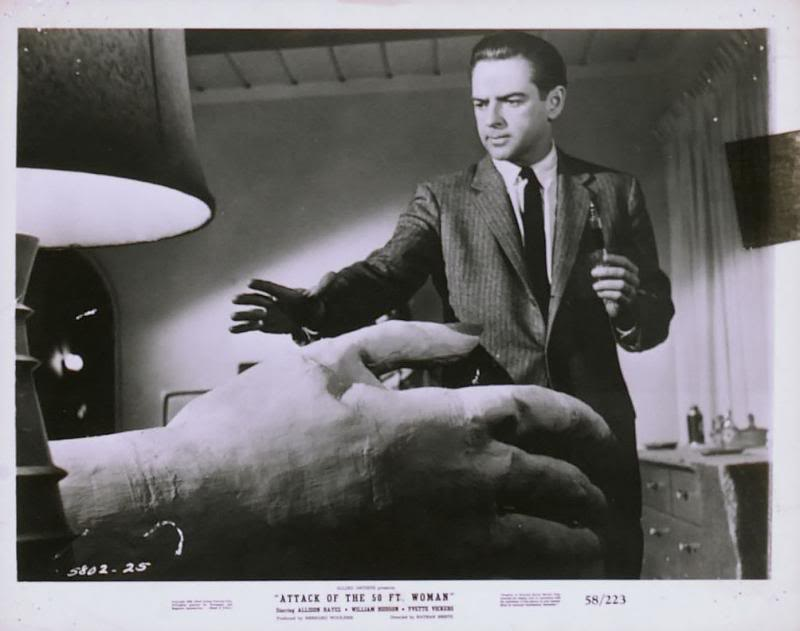 attack of the 50 foot woman 1958 � the visuals � the