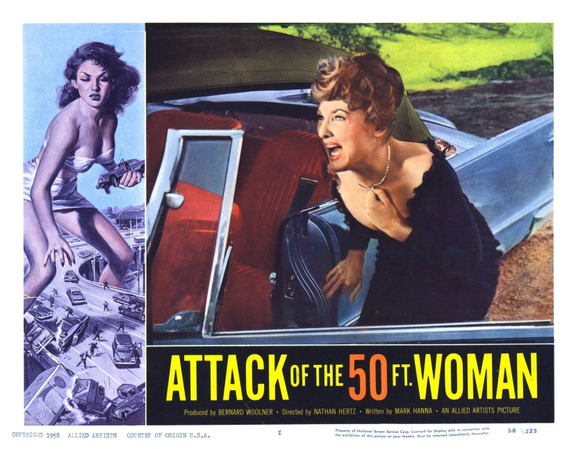 attack of the 50 foot woman Attack of the 50 foot woman 35k likes attack of the 50 foot woman is an independently made 1958 american black-and-white science fiction film.