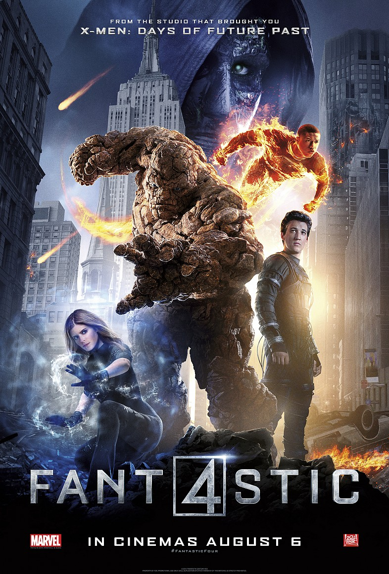 Fantastic Four 2015 1