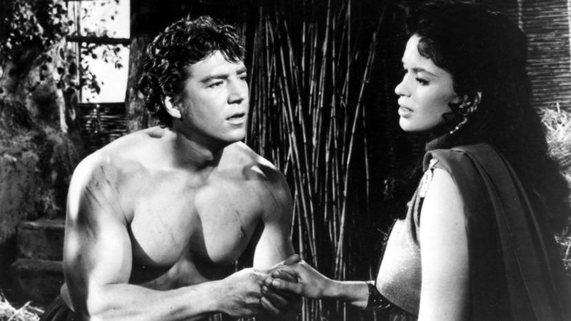 HERCULES AND THE HYDRA, Mickey Hargitay, Jayne Mansfield, 1960
