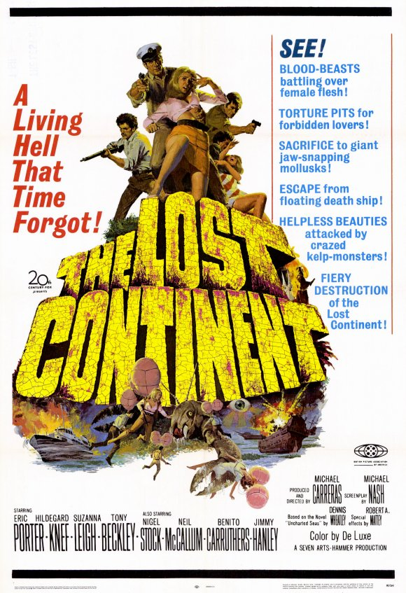 The Lost Continent 1968 1