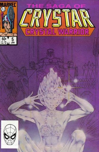 The Saga of Crystar Crystal Warrior #5