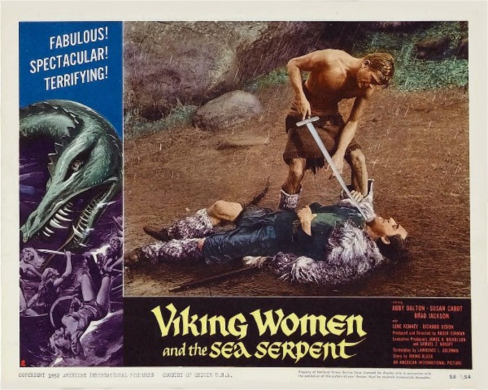 Viking Women and the Sea Serpent 13